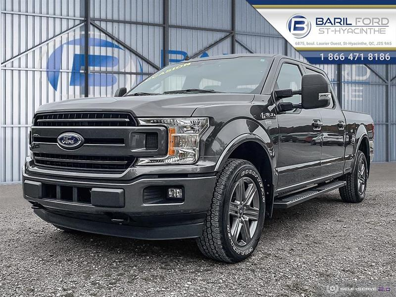 2020 Ford  F-150 XLT cabine SuperCrew 4RM caiss