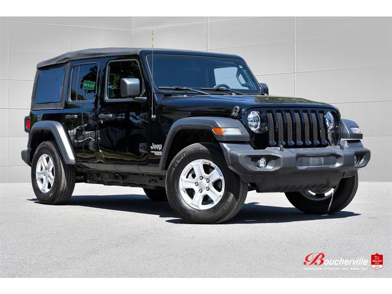 Jeep Wrangler 2020 SPORT S * 4 PORTES * TEMP FROI
