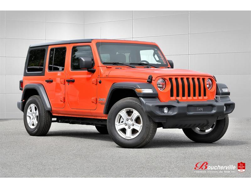 Jeep Wrangler 2020 SPORT S * AUTO * TOIT RIGIDE *
