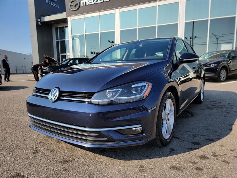 2018 Volkswagen  Golf TSI, CUIR, TOIT, A/C, SIEGES C