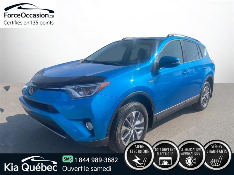 Toyota RAV4 2018 XLE * AWD *TOIT OUVRANT *ANGLE