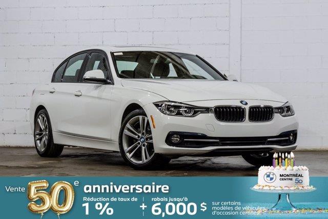 2018 BMW 3 Series 330i xDrive, Toit ouvrant, Cui