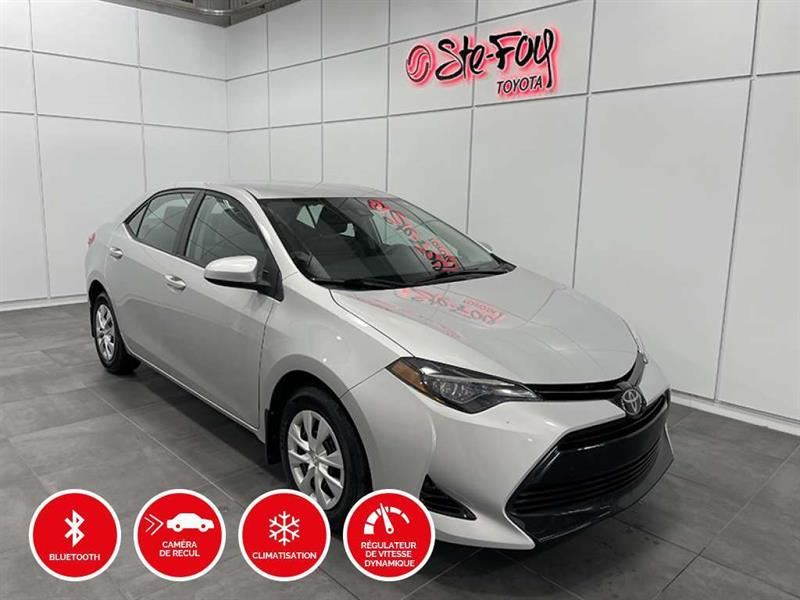 Toyota Corolla 2018 CE - GROUPE CLIMATISEUR