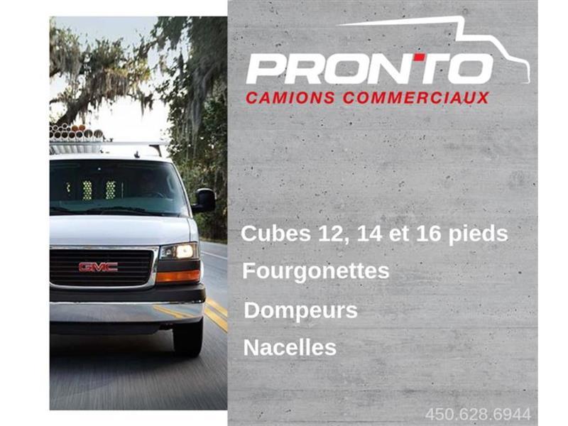 2017 GMC Cube Van