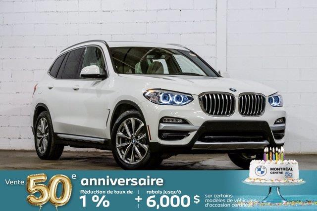 BMW X3 2019 xDrive30i, Premium amélioré, C