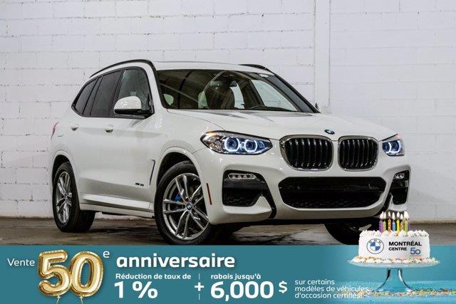 BMW X3 2018 xDrive30i, Premium Amélioré, M