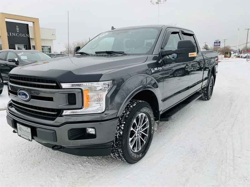 2018 Ford  F-150 XLT Supercrew 3.5L GPS Ens spo