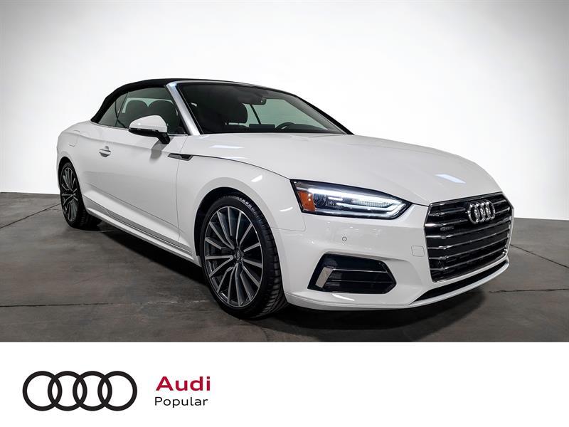Audi A5 Technik 45 TFSI quattro 2019