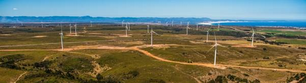 Jeffreys Bay Wind Farm, South Africa