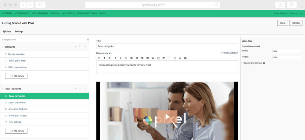NorthPass - learning management