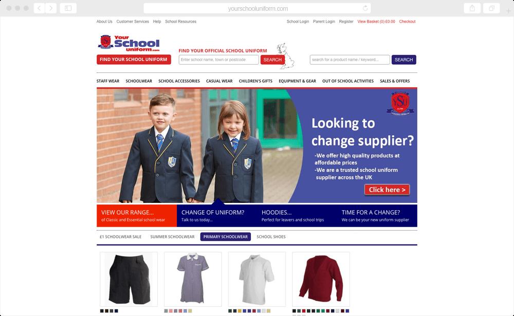 Your School Uniform - B2C & B2B / clothing