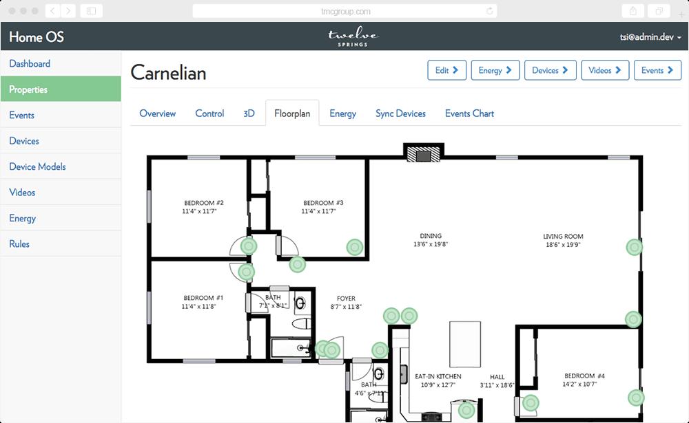 Smart Home Management Platform