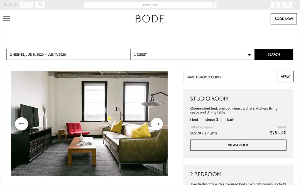 Bode - hotel management