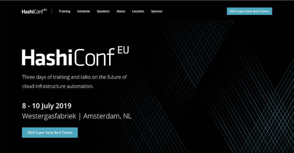 HashiConf EU 2019 Highlights