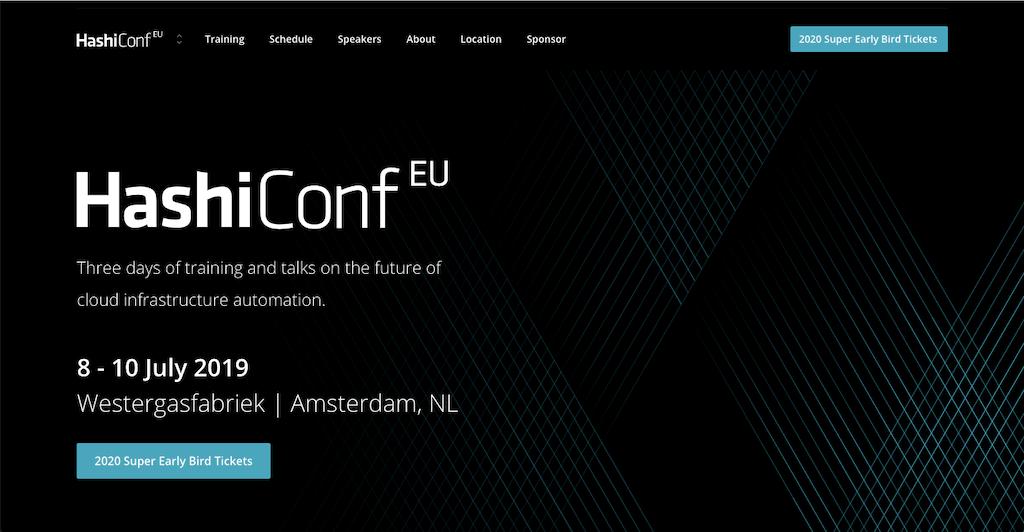 HashiConf EU 2019 Highlights