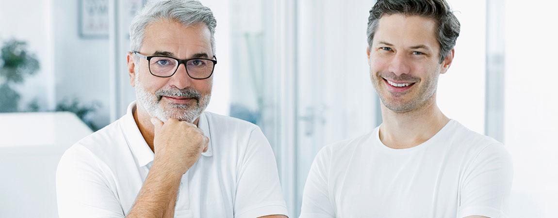 igevia-Gründer: Gerhard Feilmayr und Dominik Flener