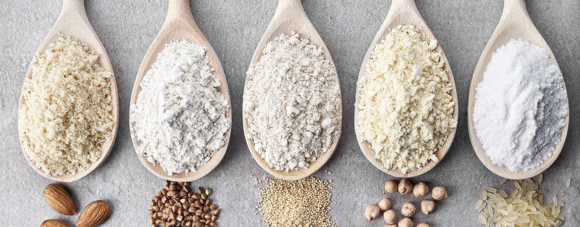 Getreidesorten auf Löffel