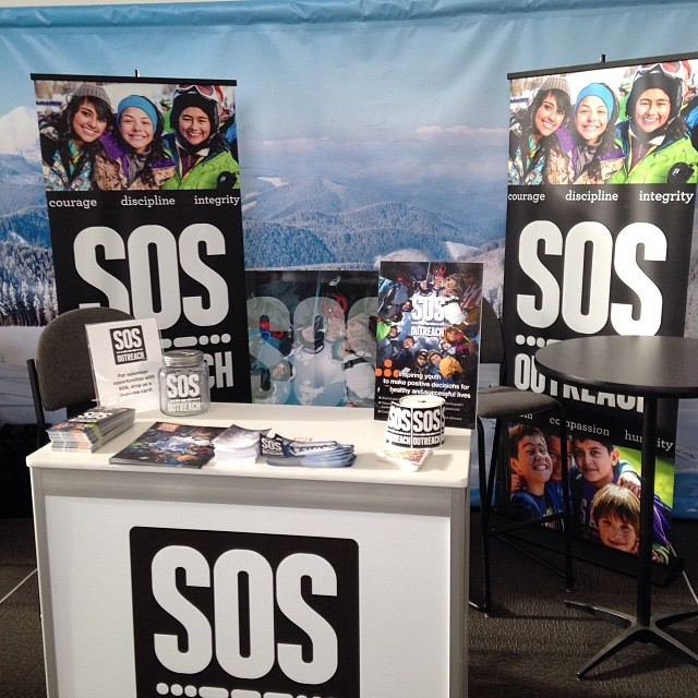 #sia14 has started its 60th show and it is @SOS outreach 20th year here. Stop by booth 22!