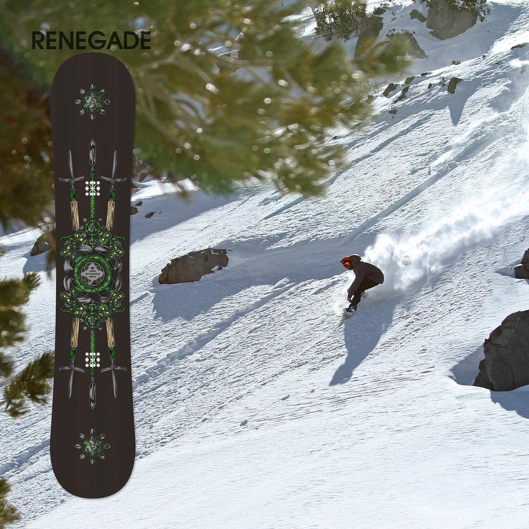 New #2016snowboards #preordernow #thrivesnowboards #renegade