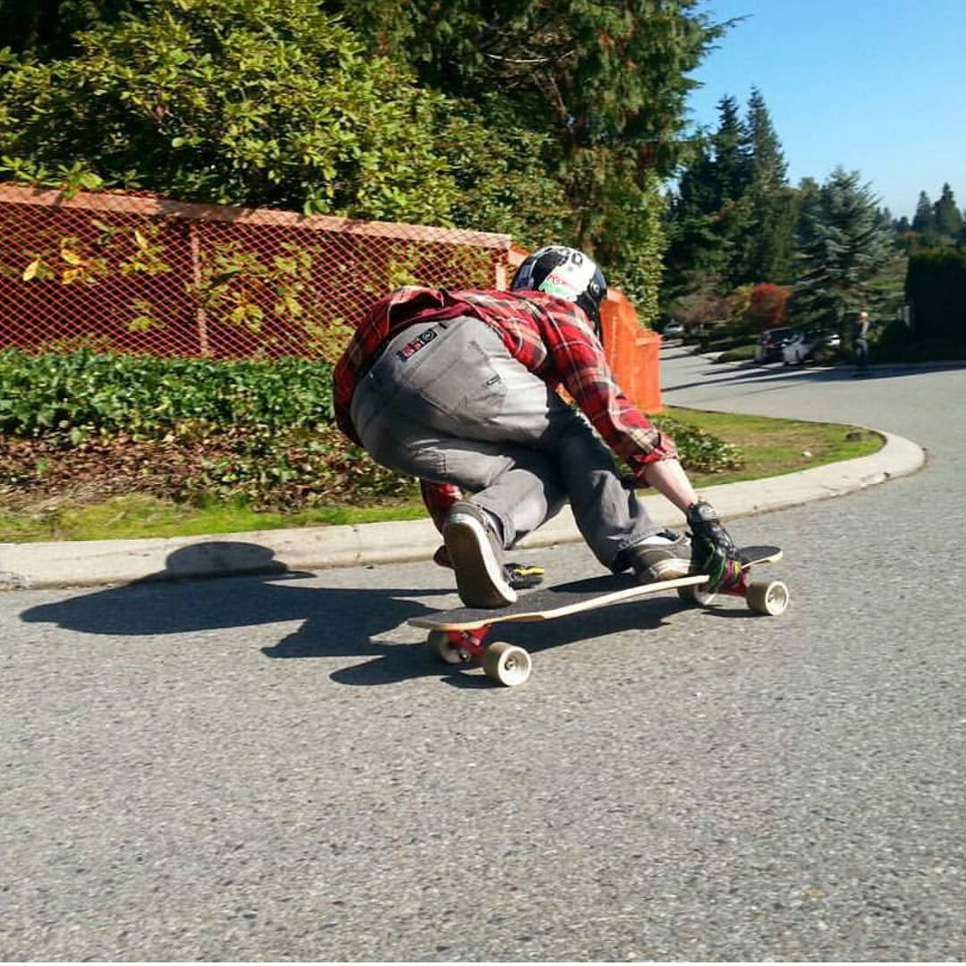 Regram from @alexisgl1,  Frank Boileau is now in Vancouver area and he is shredding hard!  #restlessboards #restlessfishbowl