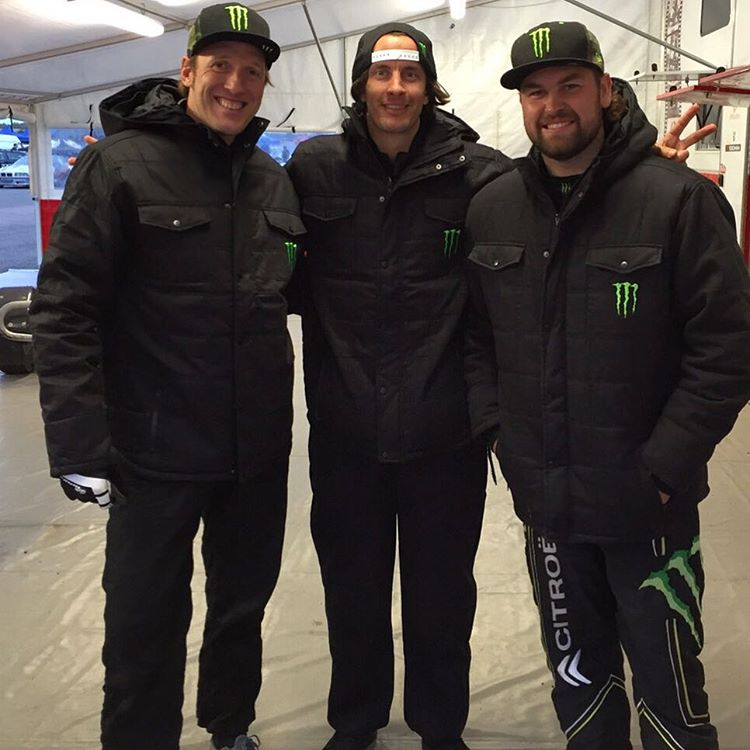 So cool that I get to race with these two absolute legends, @stevepeat and @andre__villa at @gymkhanagrid this weekend