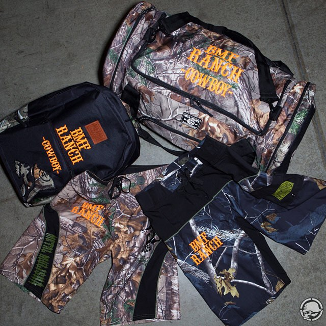 Stoked to be able to support @CowboyCerrone and get him dialed with some custom @RealTreeOutdoors ✖️ @BMFRanch gear