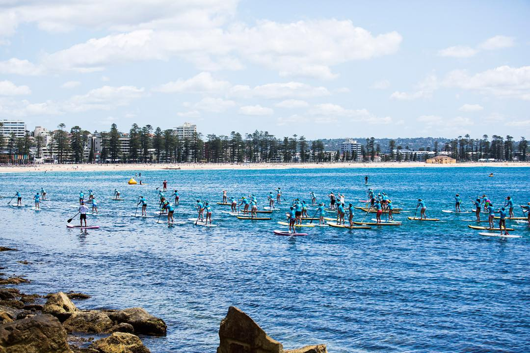 Sydney you were A M A Z I N G!  Thanks to everyone who joined us at Manly beach, we hope you had as much fun as we did.  We'd also like to thank our #RUNSUPYOGA partners @rebelsport @organicavenue_au @bluedinosaurbars @naishaustralia @ellabacheaus...