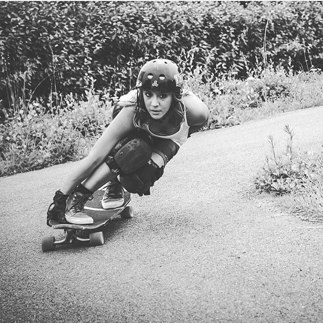 @lgcfrance ambassador @tahina_m! @julien_leger photo.  #longboardgirlscrew #womensupportingwomen #skatelikeagirl #tahinamiault #lgcfrance