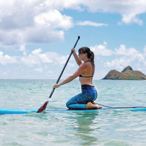 ALOHA VIBES #sup #mermaid @totem_co #hawaii #adventure #aloha #supleggings #OKIINO