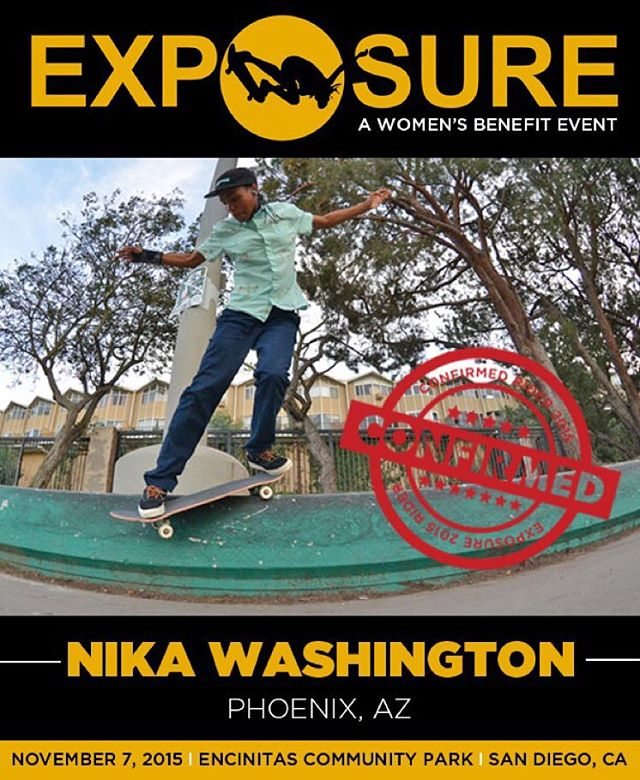 Nika Washington (@cranberryinmycup) confirmed for EXPOSURE 2015!