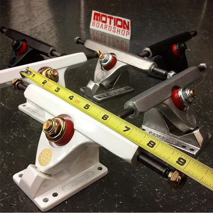 @motionboardshop knows what's up when it comes to the 9in Calibers. these are super sick for getting loose and turny!