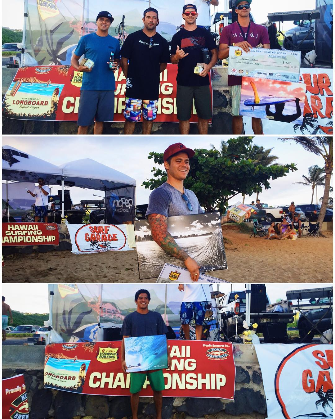 What an epic finish to the Hawaii Surfing Championship! The conditions at Sandy Beach could not have been more perfect. Congratulations to all of our finalists for the longboard and shortboard divisions!  Longboard: 1st Nelson Ahina, 2nd Makamae...