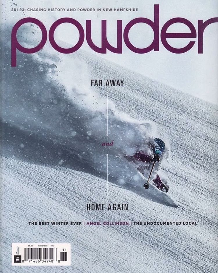 Sending a massive hip hip hooray to Angel Collinson for landing her first ever cover with POWDER!!! She also scored a feature article, plus her own written piece in the magazine! Make sure to grab a copy and check it out! (Note: this is the first ever...