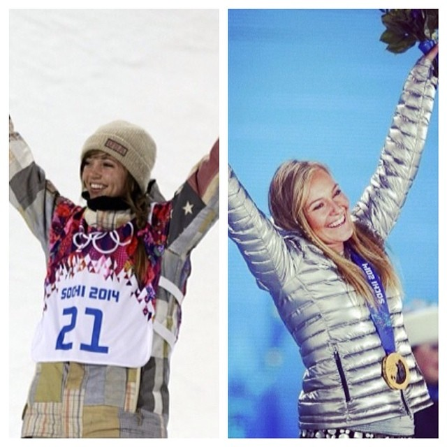 #FlashbackFriday...We are so freaking proud and excited for these two B4BC ambassadors and GOLD medalists for their amazing accomplishments in the Olympics!! What are you doing to #behealthygetactive this weekend? #fbf