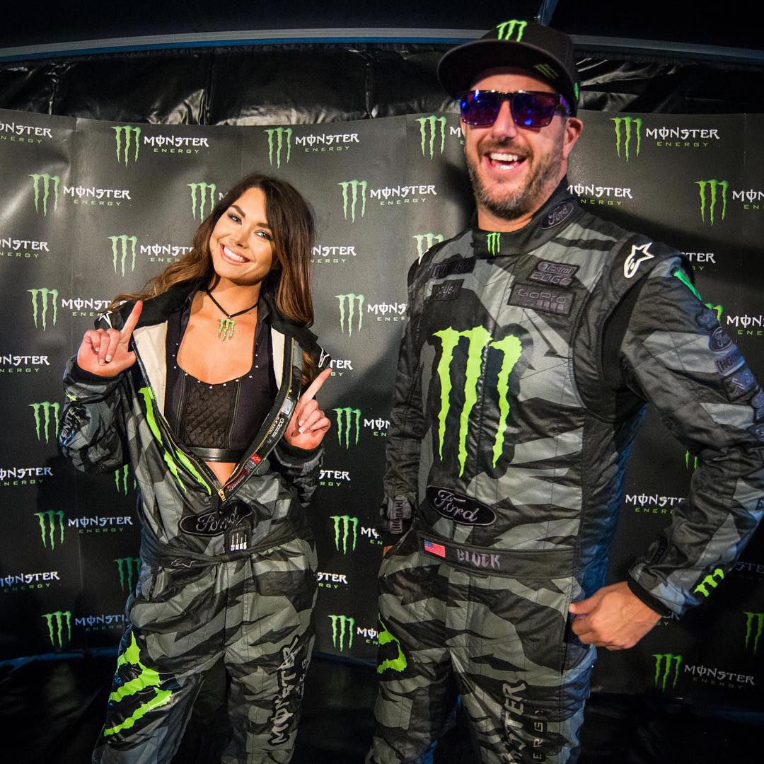Who wore it best? #MonsterGirls #racesuitdoubles #GymkhanaGRID