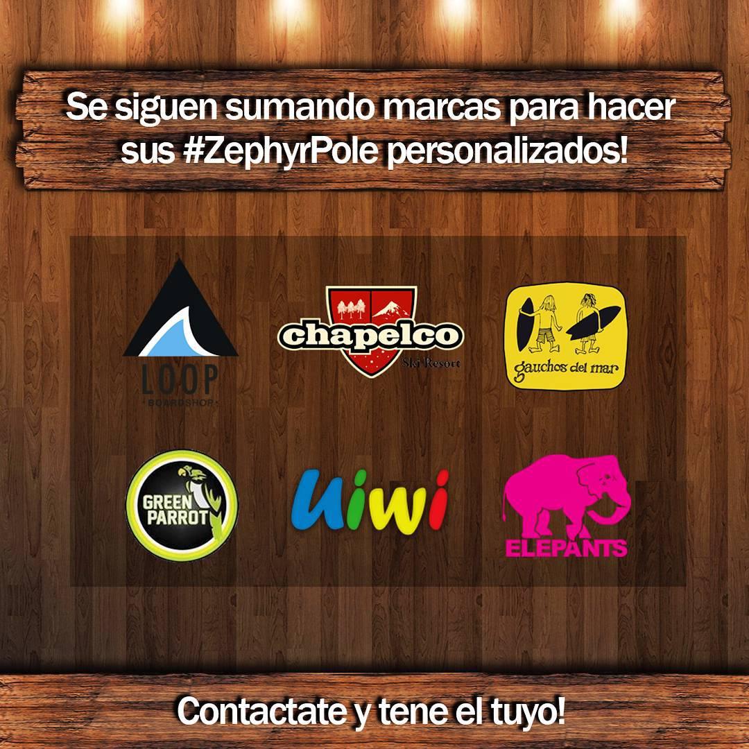 Que esperas para hacer tu #ZephyrPole personalizado? - Contactate a nuestro mail: info@zephyrgear.com.ar!