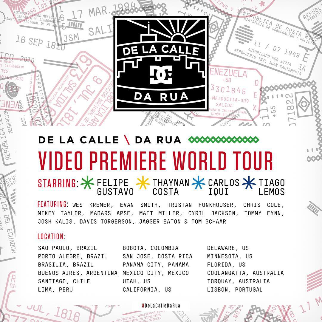 The #DeLaCalleDaRua World Premiere Tour is coming to a town near you in November! Click the link in our bio for dates and cities! #DCShoes