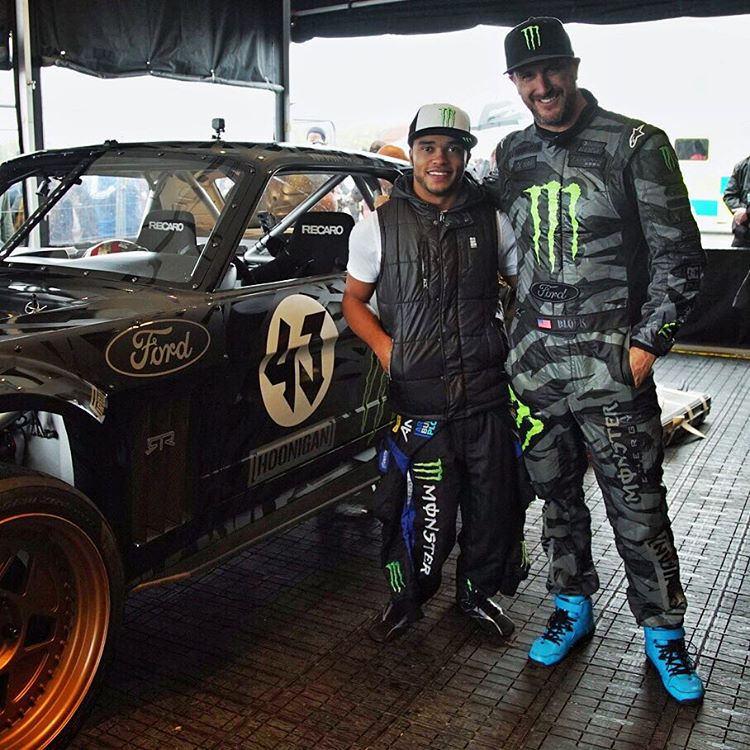 The @GymkhanaGrid buggy class had some great guest drivers out this weekend, including this guy - BTCC racer Mr. Nicolas Hamilton. Nicolas was born with cerebral palsy, but he didn't let that stop him from pursuing a full-on racing career. This dude is...