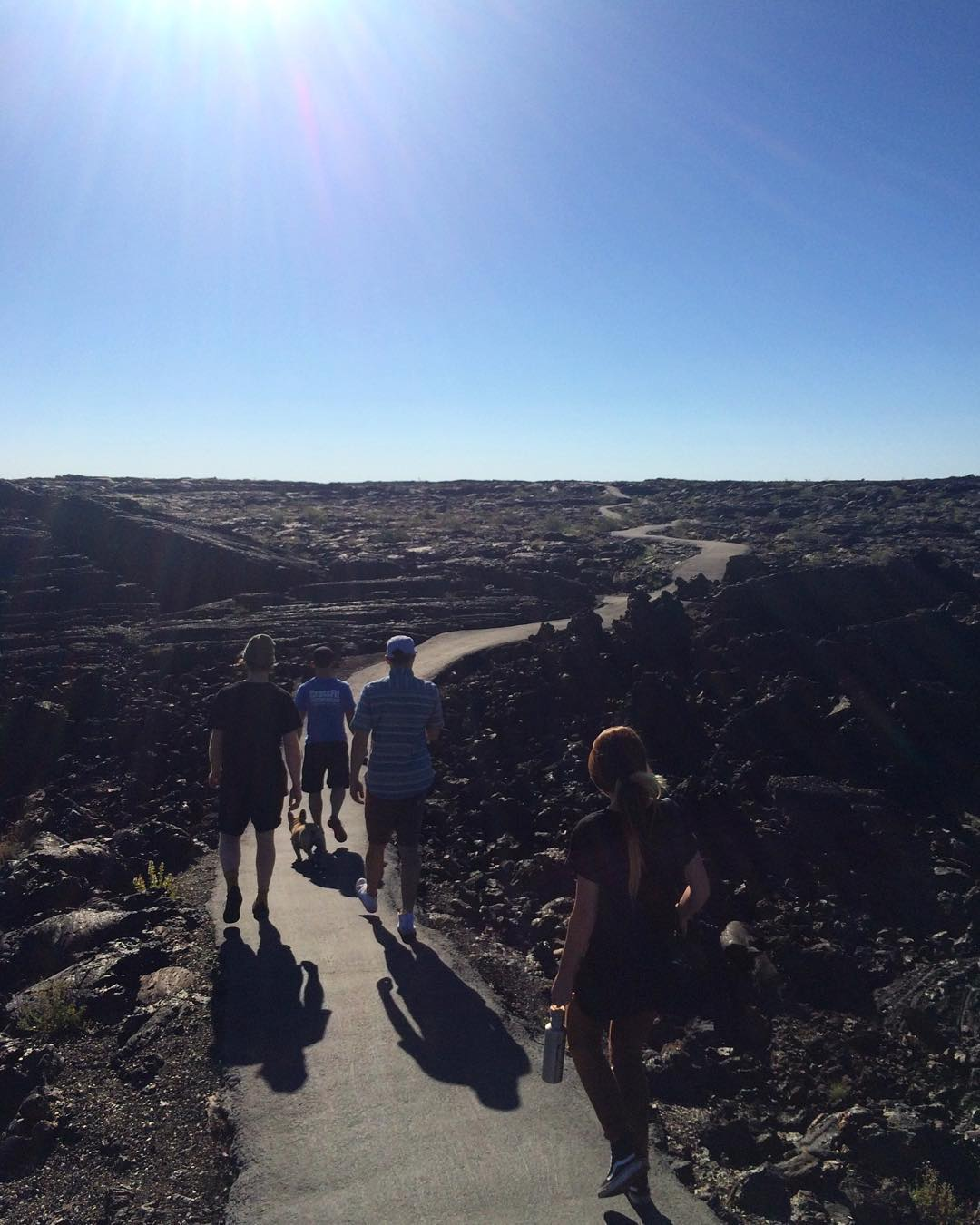 "Craters of the Moon, Idaho ""In 1969 Apollo astronauts Alan Shepard, Edgar Mitchell, Joe Engle and Eugene Cernan visited Craters of the Moon. They explored the lava landscape in order to learn the basics of volcanic geology in preparation for future..."