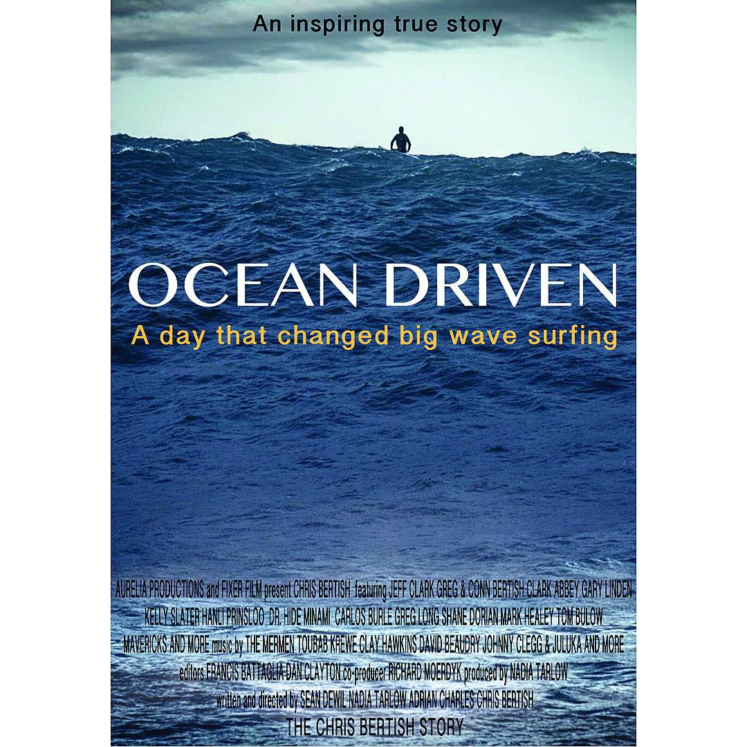 You're invited to join the cast and crew of Ocean Driven for an exclusive pre-release screening of their award winning documentary featuring Big Wave Surfing Champion @chrisbertish at the California Academy of Sciences to benefit Ocean Conservation....