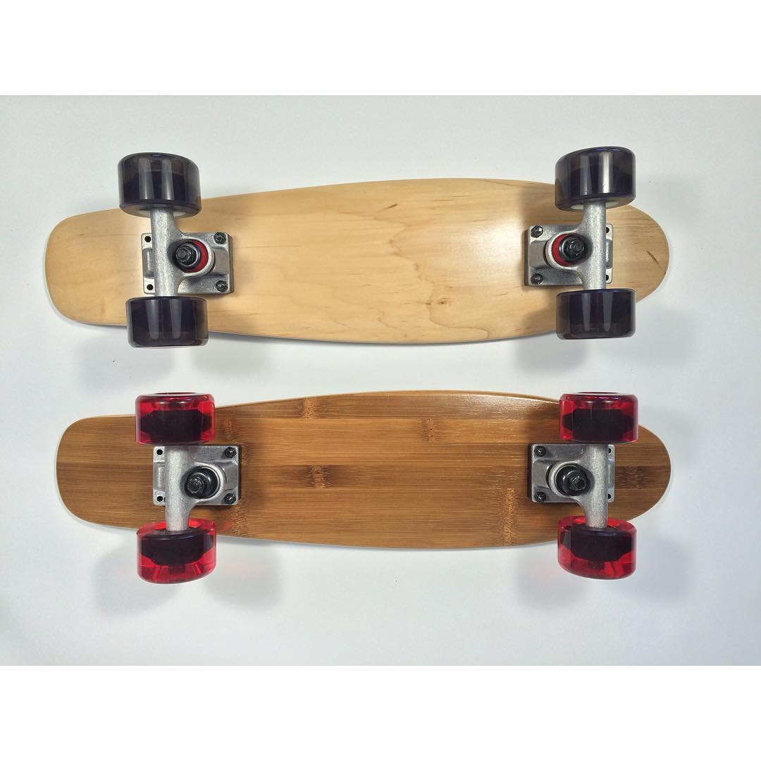 #bamboo and #maple #penny #killer #skateboards from your #favorite #online #skateshop #cruiser #skatelife #concretewave