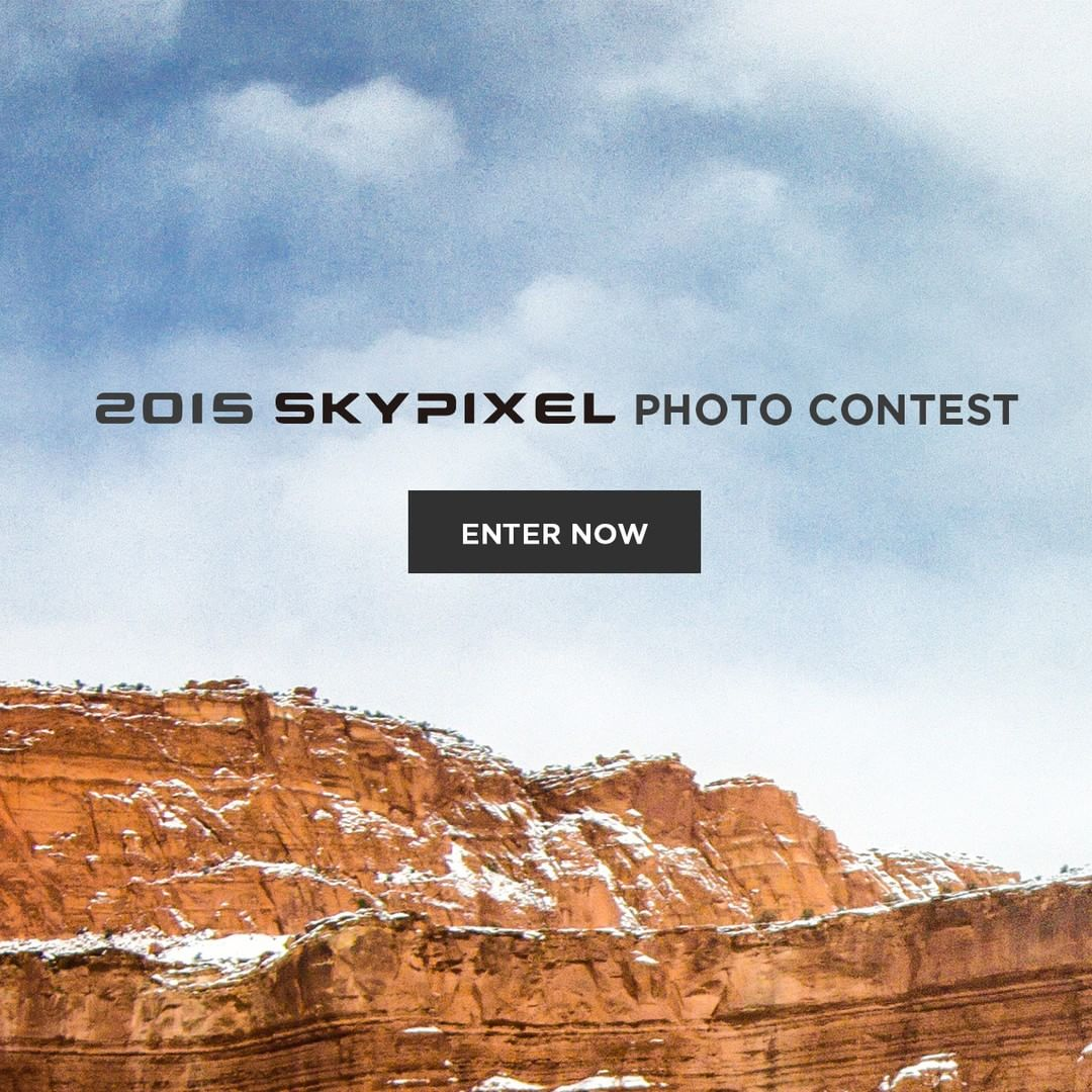 One massive year for #aerial photography, one massive year for #SkyPixel.  We're on the hunt for 2015's best aerial shot. Head over to www.skypixel.com today to get the chance to win an #inspire1 RAW and much, much more.