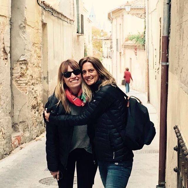 Our friends @mariaeugeniarossi & @rominaspatafora in Segovia #ForestPro
