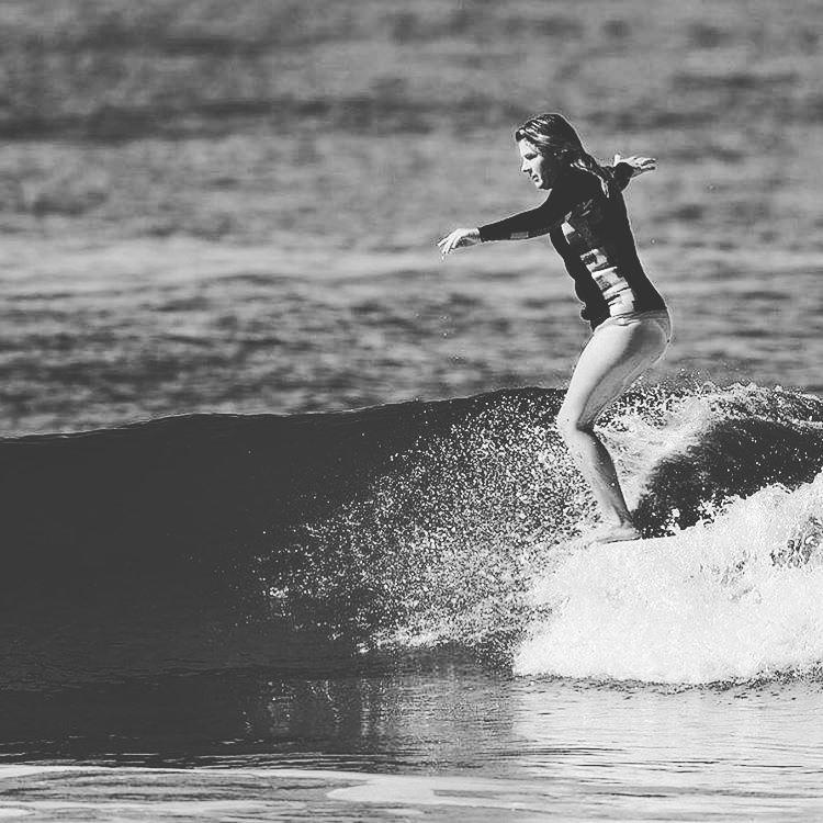 #AkelaSurf Rider @kaitlin_maguire #ladyslider #fashion #surf #surfswimwear #california