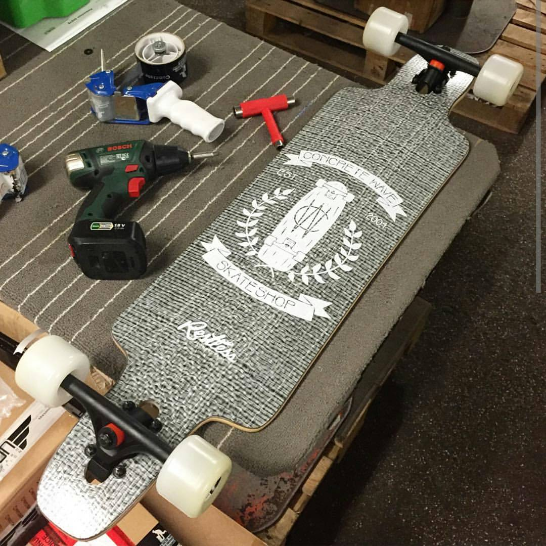 You live in Germany?  Make sure you check out the #restlessSplinter @concretewave_skateshop edition! #restlessboards