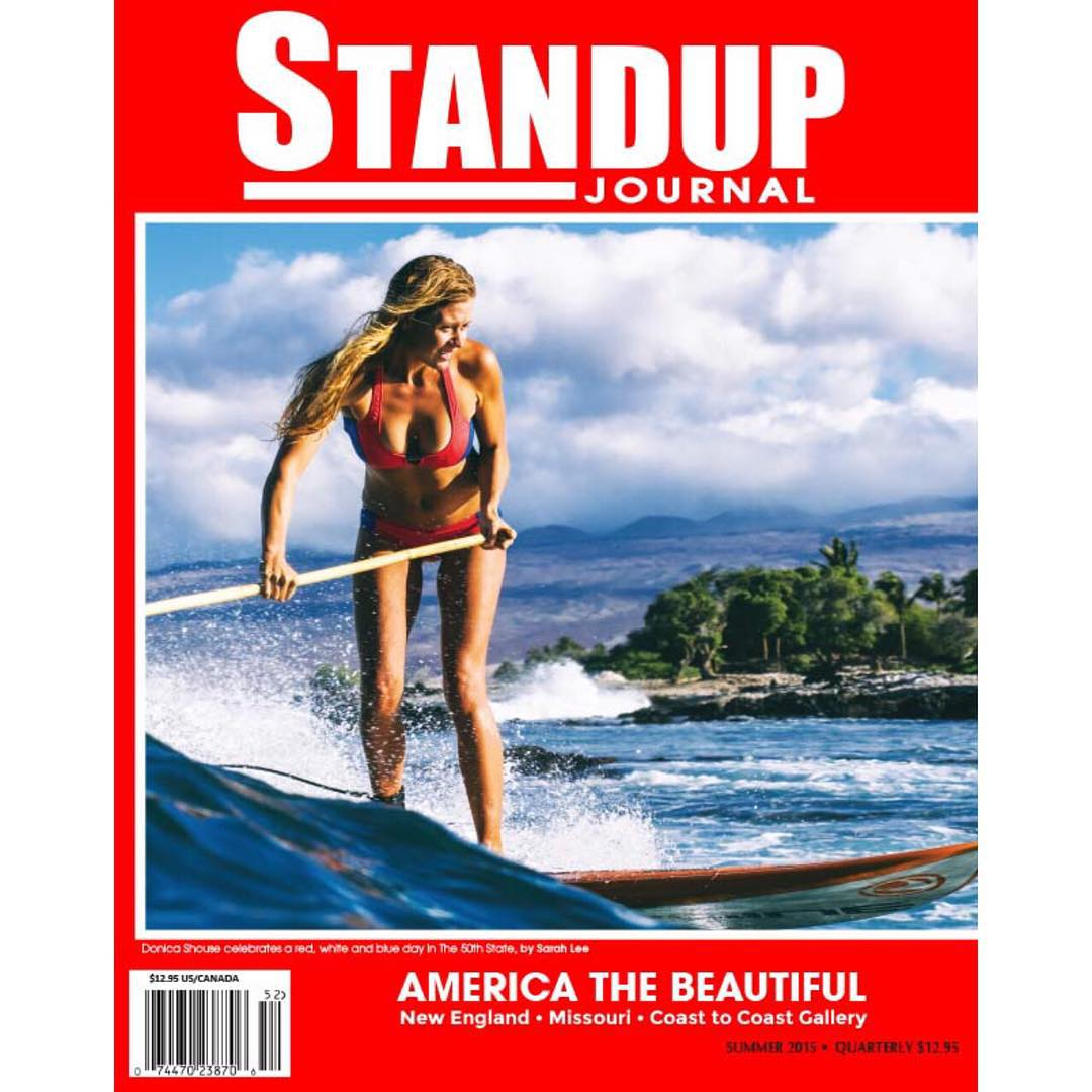 Summer wrapping up with one of our favorite publications @standupjournal !  @swellliving the ever graceful  #covermodel #sarahleephoto #standupjournal #bamboopaddle #paddlehawaii #imaginesurf #odinasurf #navitasnaturals #kaenon #rareform #konaboys...