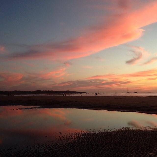 Saturday sunset!  #sunset #tamarindo #costarica #puravida