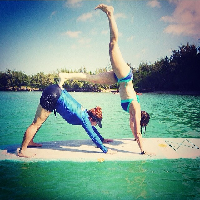 #regram from @maliaalicia from #wanderlustoahu #localhoneyswim #reversible #bikinis #sup #supyoga #wanderlust #oahu #yoga #yogis #adventure #travel #inspiration #ocean #onthewater #floaton #stayson #athletic #love #localhoney #localhoneydesigns...