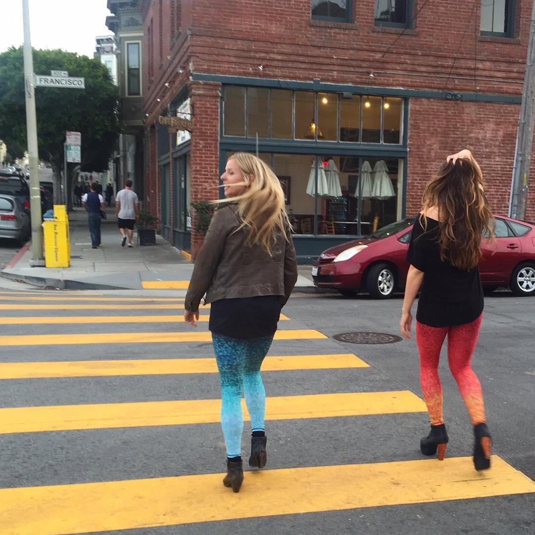 STREET STYLE #walkingart #urbanmermaid #streetwear #sea #street #studio #fashion #OKIINO