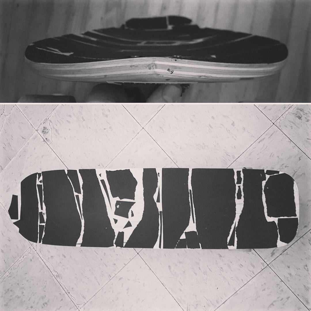 Stoked on the concave and shape! Here is a sneak peek of a new skateboard we are shaping for you!  #bonzing